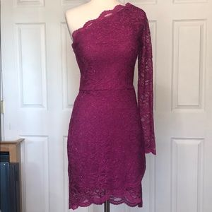 Lace off the shoulder dress size 9